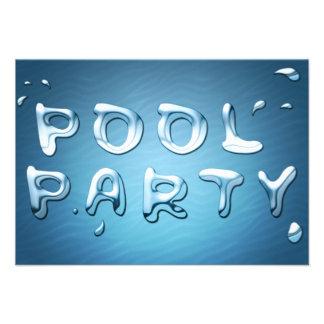 pool party invitation liquids
