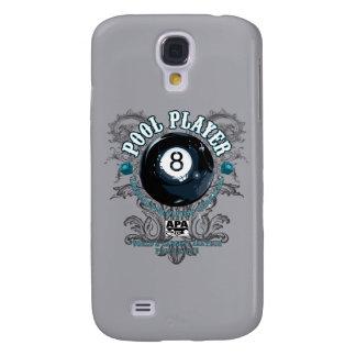 Pool Player Filigree 8-Ball Galaxy S4 Case