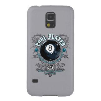 Pool Player Filigree 8-Ball Galaxy S5 Cases
