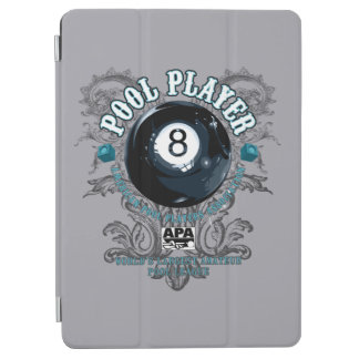 Pool Player Filigree 8-Ball iPad Air Cover