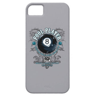 Pool Player Filigree 8-Ball iPhone 5 Cover