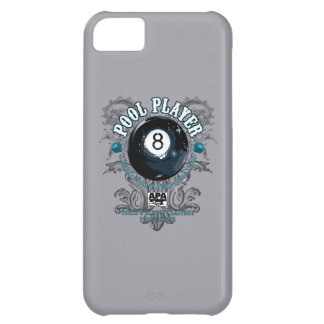 Pool Player Filigree 8-Ball iPhone 5C Case