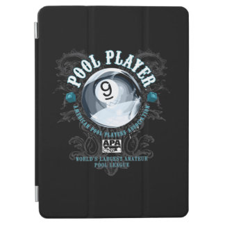 Pool Player Filigree 9-Ball iPad Air Cover