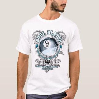 Pool Player Filigree 9-Ball T-Shirt
