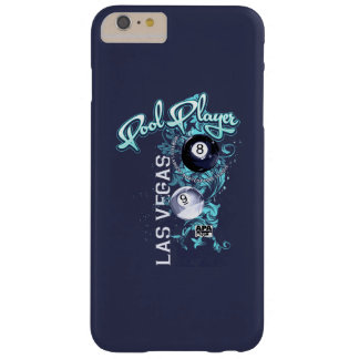 Pool Player Filigree Barely There iPhone 6 Plus Case