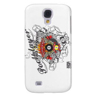 Pool Player For Life Galaxy S4 Case