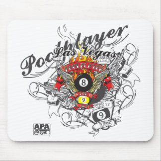 Pool Player For Life Mouse Mat