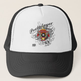 Pool Player For Life Trucker Hat