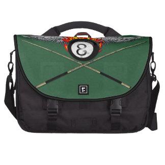 Pool Player Computer Bag