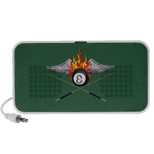 Pool Player Portable Speaker