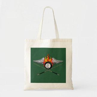 Pool Player Tote Bags