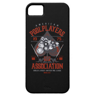 Pool Rack with Spade Barely There iPhone 5 Case