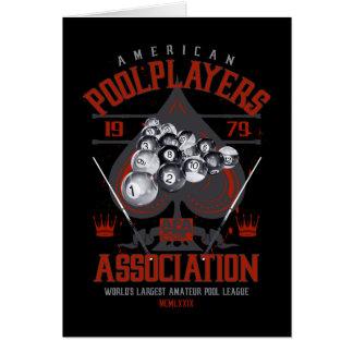 Pool Rack with Spade Card