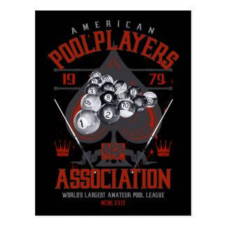 Pool Rack with Spade Postcard