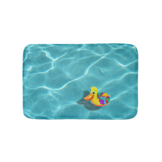 Pool Rubber Ducky PRDX Bath Mat