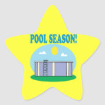 Pool Season Sticker