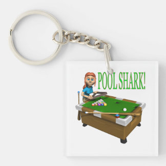 Pool Shark 2 Keychain