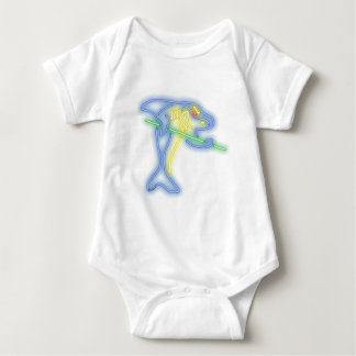 Pool Shark Baby Bodysuit