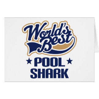 Pool Shark Gift Greeting Card