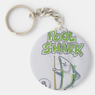 Pool shark key chain