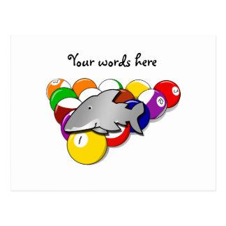 Pool shark post cards
