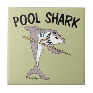 Pool Shark Small Square Tile