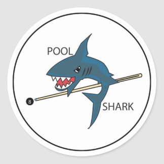 Pool Shark Sticker