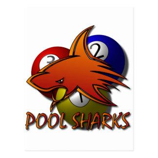 Pool Sharks Wens Kaarten