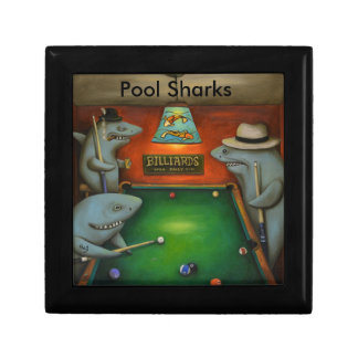 Pool Sharks with Lettering Gift Box