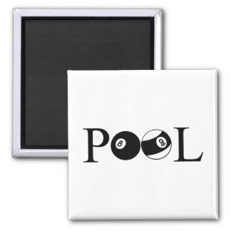 Pool Square Magnet
