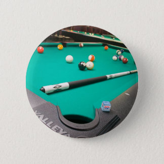 Pool Table 6 Cm Round Badge