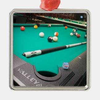 Pool Table Christmas Ornament