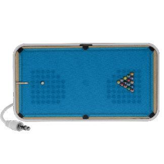 Pool Table - speakers
