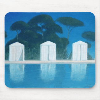 Pool Tents Mouse Pad