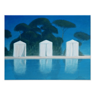 Pool Tents Poster
