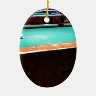 Pool Time Ceramic Oval Decoration