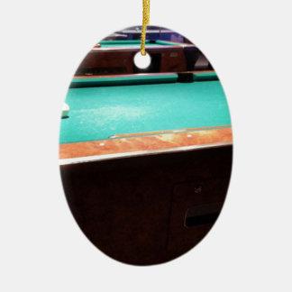 Pool Time Ceramic Oval Decoration