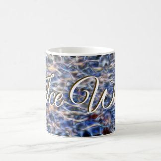 Pool water a art concept by Glitch2 Designs Coffee Mug