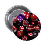 Pool Wine Casino Surreal prints art surreal Pinback Buttons