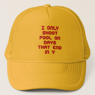 PoolChick Days Trucker Hat