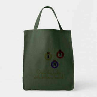 PoolChick Live To Play Grocery Tote Bag