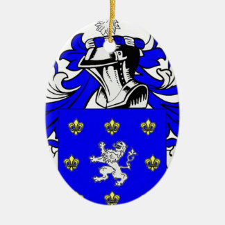 Poole Coat of Arms Christmas Tree Ornament