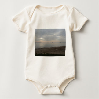 Poole Harbour from Hamworthy Baby Bodysuit