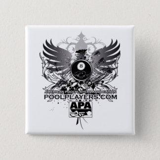 PoolPlayers.com 15 Cm Square Badge