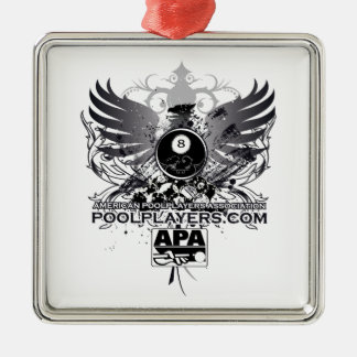 PoolPlayers.com Christmas Ornament