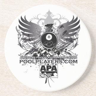 PoolPlayers.com Coaster