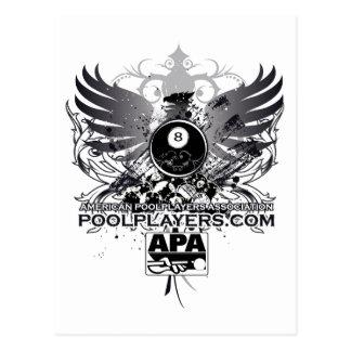 PoolPlayers.com Postcard