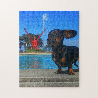 Poolside Jigsaw Puzzle
