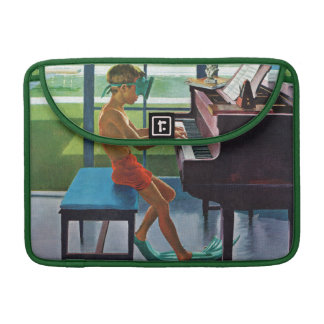 Poolside Piano Practice Sleeves For MacBook Pro