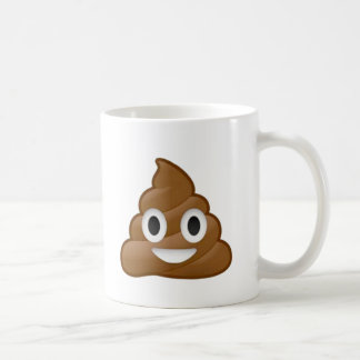 Poop emoji coffee mug